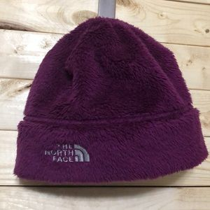 The North Face Purple Hat  Junior Size M